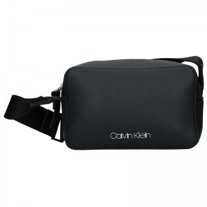 Dámská crossbody kabelka Calvin Klein Líza - černá