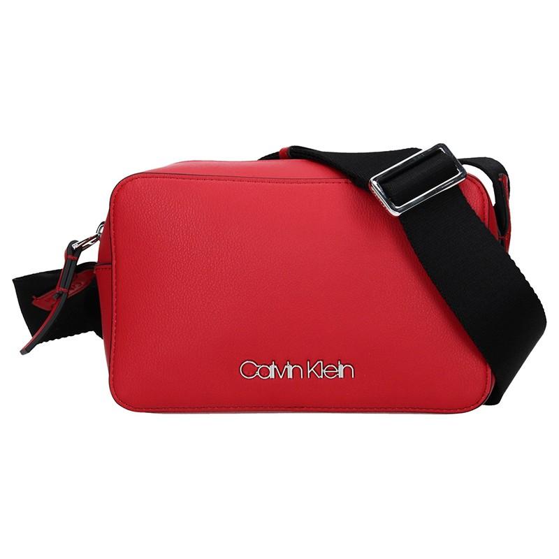 Dámská crossbody kabelka Calvin Klein Líza - červená