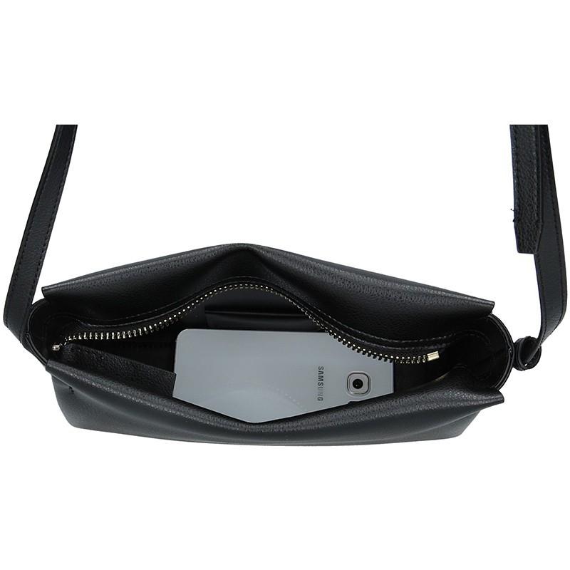 Dámská crossbody kabelka Calvin Klein Beate - černá