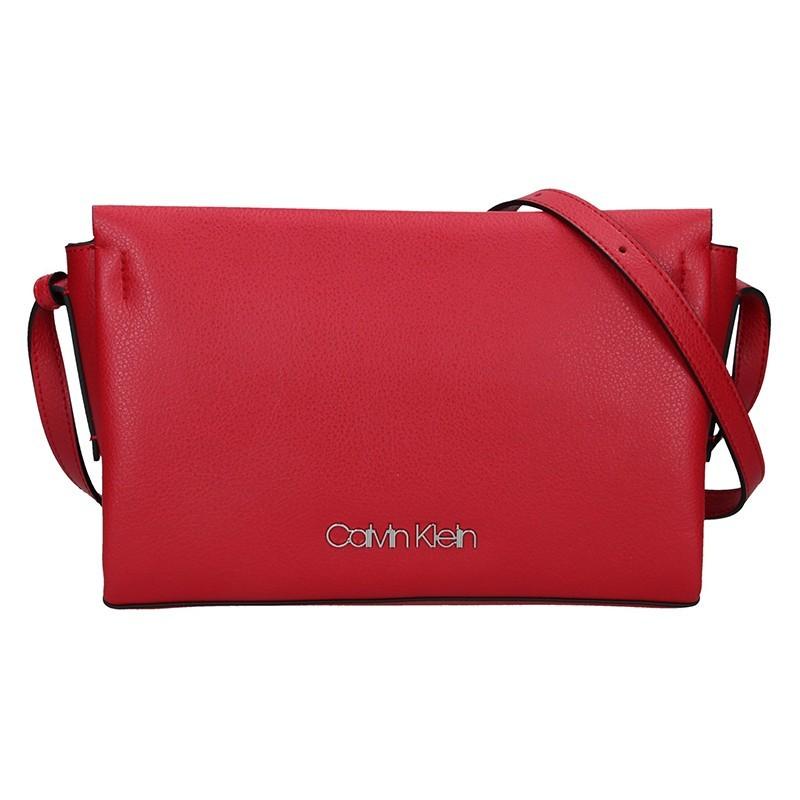 84c0fc5972b2 Dámská crossbody kabelka Calvin Klein Beate - červená