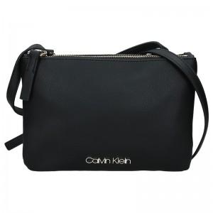 Dámská crossbody kabelka Calvin Klein Gwen - černá