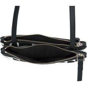 Dámská crossbody kabelka Calvin Klein Gwen - černo-bílá