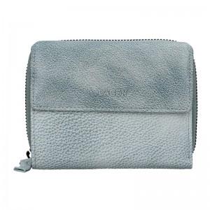Dámská kožená peněženka Lagen Miriam - modrá