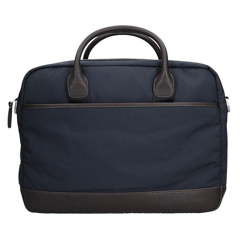 Pánská pracovní taška Lerros Wermon - modro-hněda