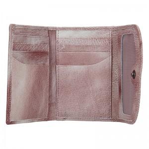 Dámská kožená peněženka Lagen Norra - světle fialová