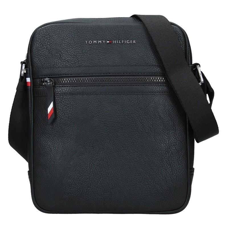 2191b72f2 Pánská taška přes rameno Tommy Hilfiger Marco - černá. Pánská taška přes  rameno Tommy Hilfiger Marco - černá Přiblížit