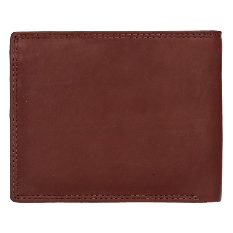 Pánská kožená peněženka Diviley Lown - hnědá