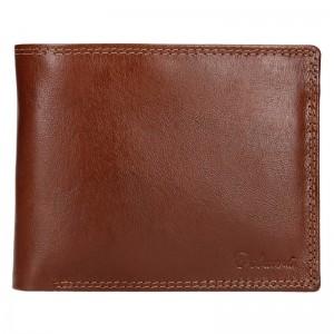 Pánská kožená peněženka Diviley Ursus - koňak