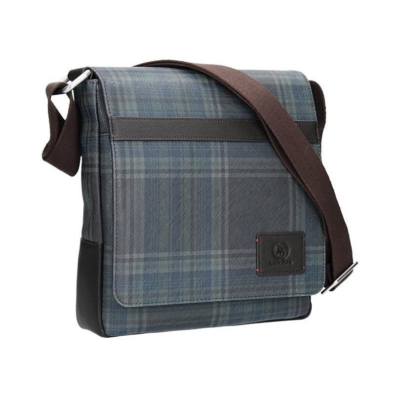 Pánská taška přes rameno Lerros Veren -modro-hnědá