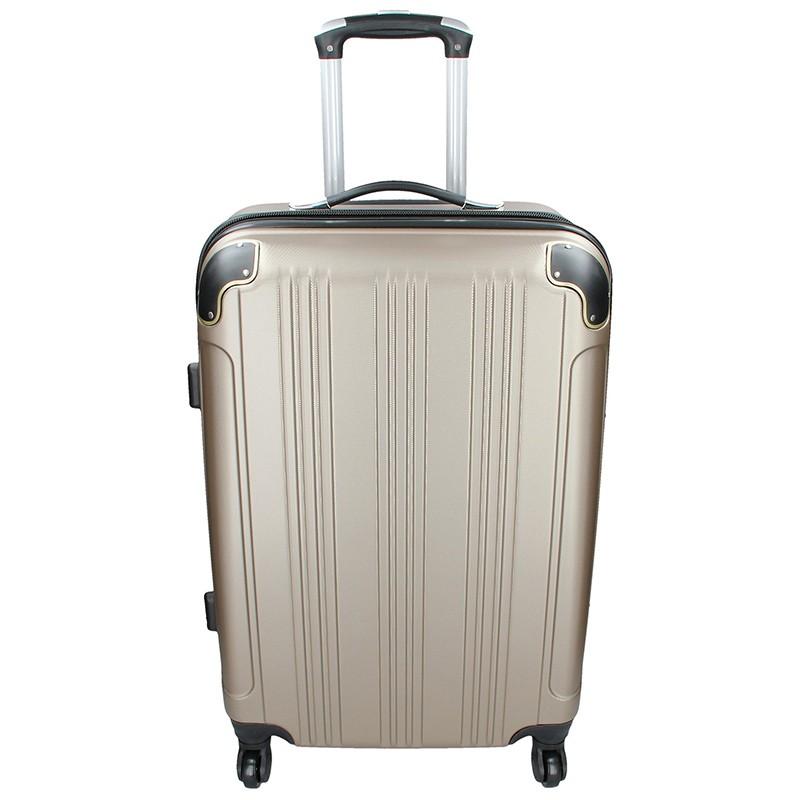 Cestovní kufr Madisson Michaela L - zlatá 101l