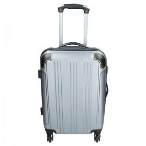 Cestovní kufr Madisson Michaela S - stříbrná