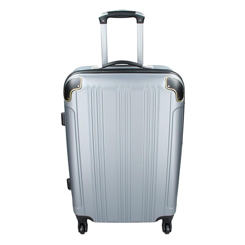 Cestovní kufr Madisson Michaela M - stříbrná 66l