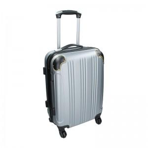 Cestovní kufr Madisson Michaela L - stříbrná