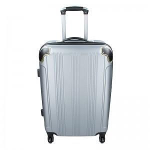 Sada 3 cestovních kufrů Madisson Michaela S,M,L - stříbrná