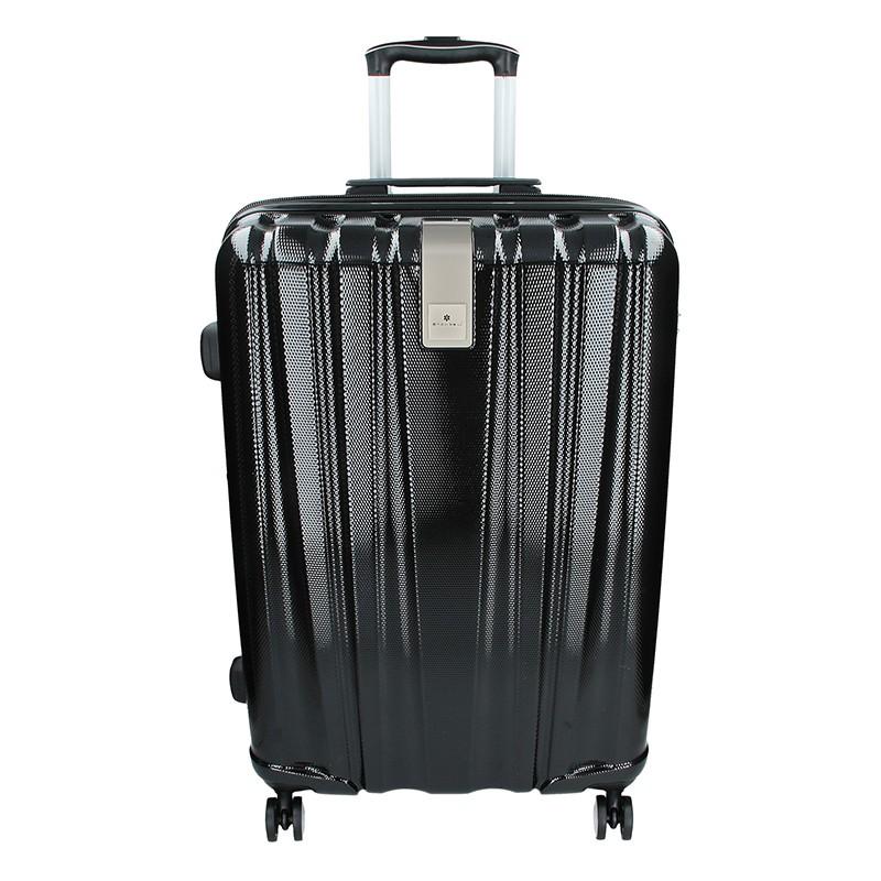 Cestovní kufr Snowball Lada M - černá 74l