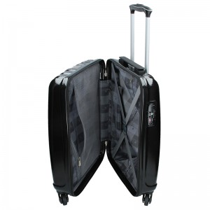 Sada 3 cestovních kufrů Snowball Lada S,M,L - černá
