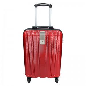 Cestovní kufr Snowball Lada S - tmavě červená