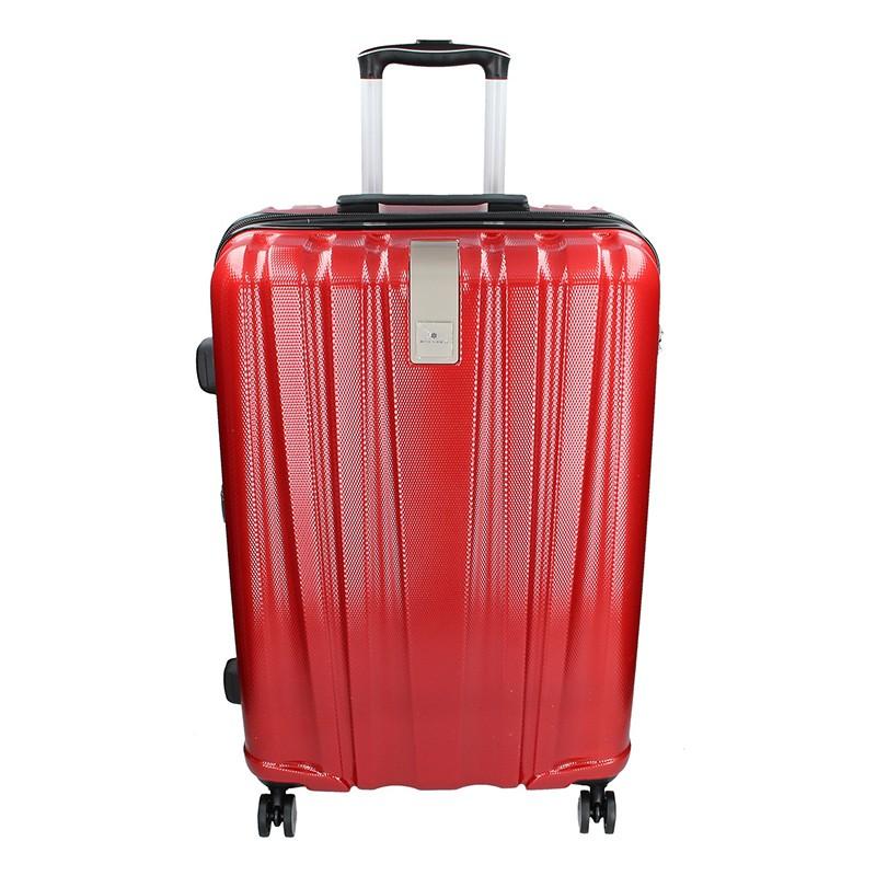 49d6cd3d2246e Sada 3 cestovních kufrů Snowball Lada S,M,L - tmavě červená