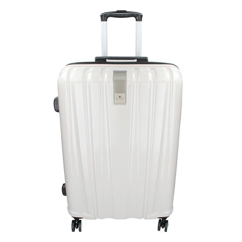 Cestovní kufr Snowball Lada M - bílá 74l