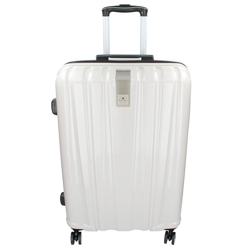 Cestovní kufr Snowball Lada L - bílá 74l