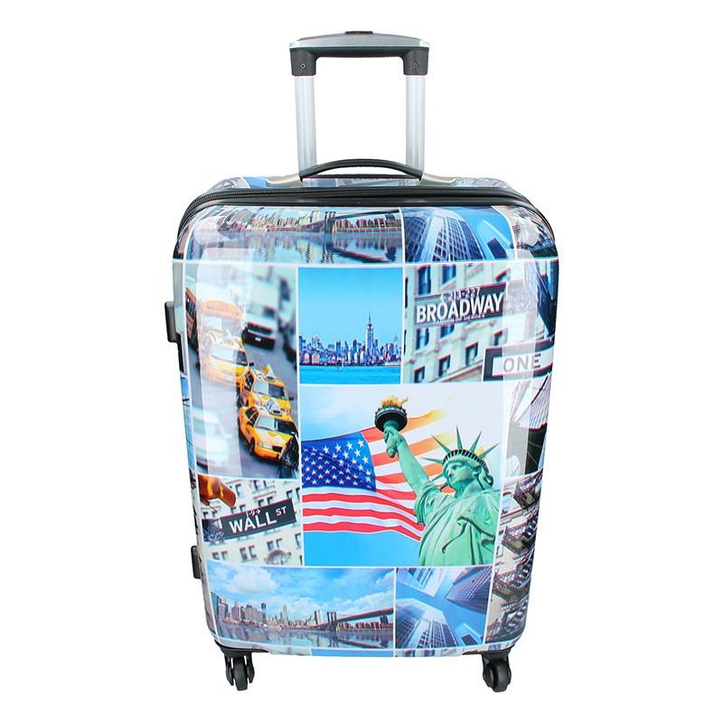 Cestovní kufr Snowball New York M 67l