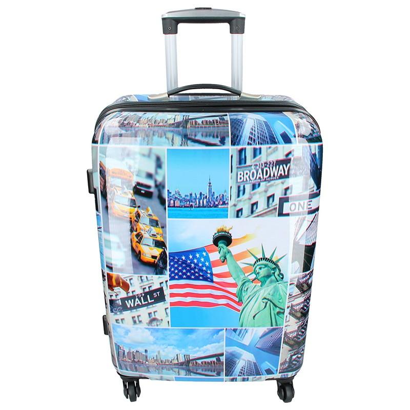 Cestovní kufr Snowball New York L 103l