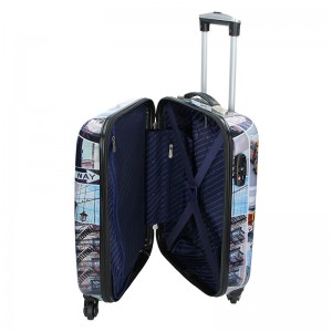 Sada 3 cestovních kufrů New York Lada S,M,L