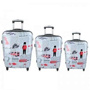 Sada 3 cestovních kufrů Snowball London S,M,L