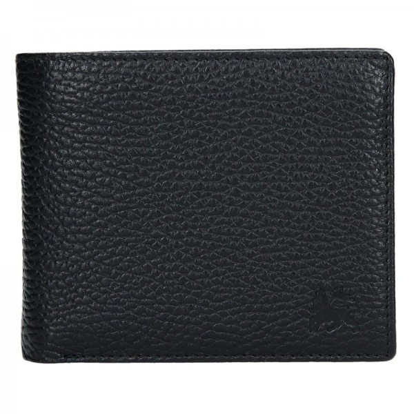 Kožená pánská peněženka Lerros Vilém - černá