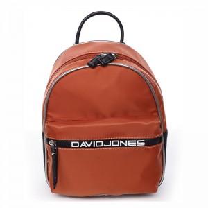 Módní dámský batůžek David Jones Wendy - oranžová