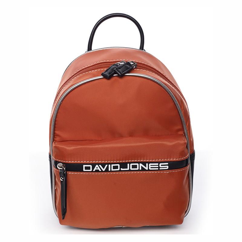 6b2de7b99d Módní dámský batůžek David Jones Wendy - oranžová