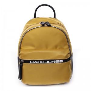 Módní dámský batůžek David Jones Wendy - žlutá