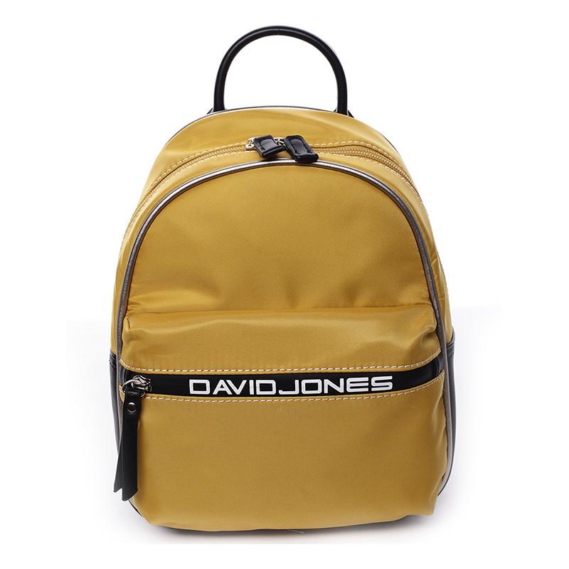 a21d704508 Módní dámský batůžek David Jones Wendy - žlutá
