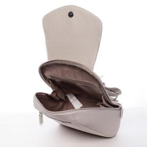 Módní dámský batůžek David Jones Malibu - krémová