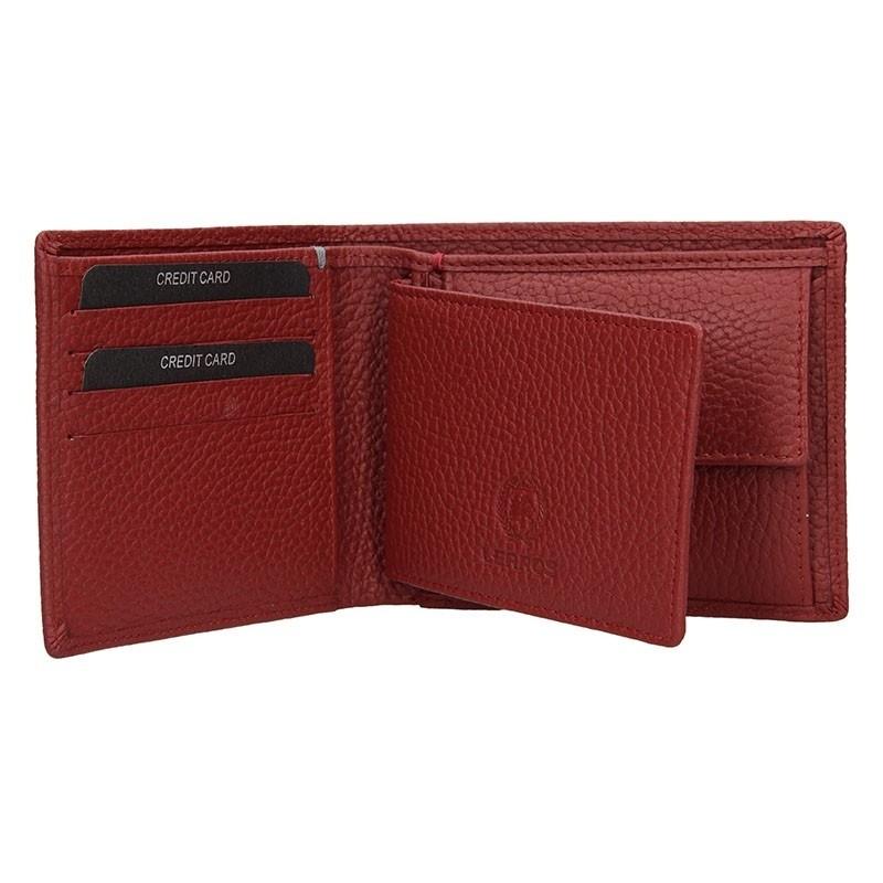 Kožená pánská peněženka Lerros Vilém - hnědá
