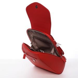 Módní dámský batůžek David Jones Malibu - červená