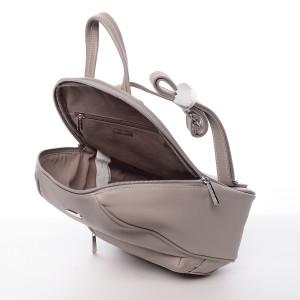 Módní dámský batoh David Jones Olivia - šedá
