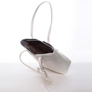 Dámská kabelka David Jones Lenka - bílá