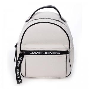 Módní dámský batůžek David Jones Terrna - bílá