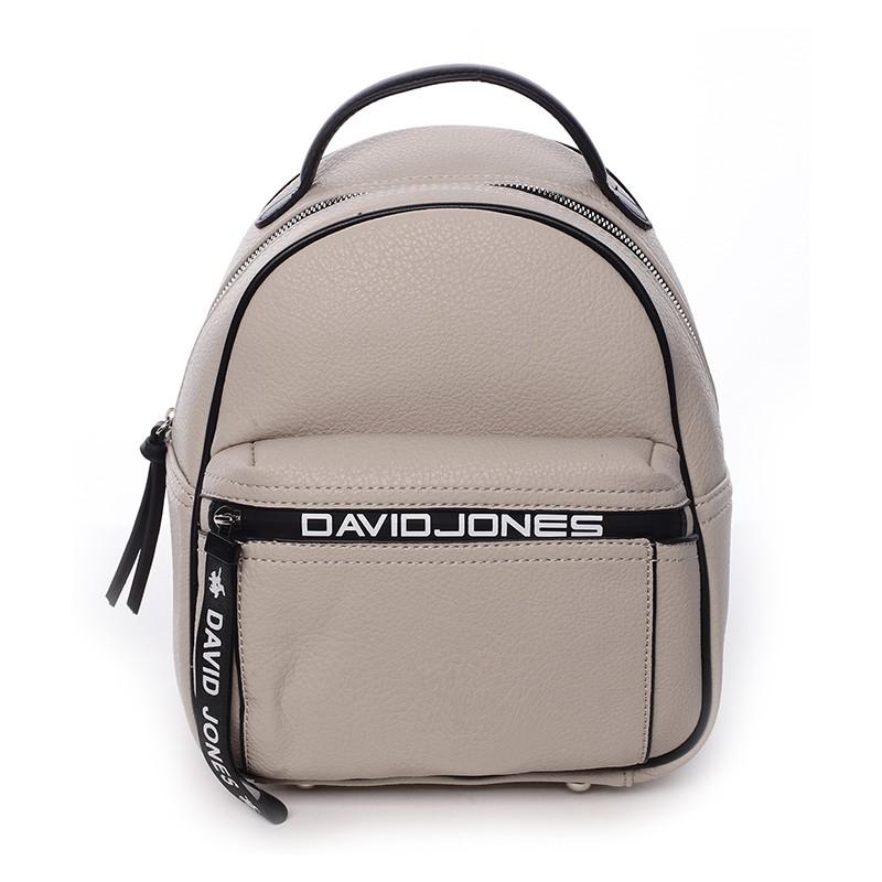 64c4440184 Módní dámský batůžek David Jones Terrna - béžová