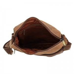Pánská taška přes rameno Always Wild Frencis - světle hnědá