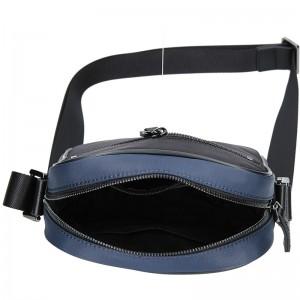 Pánská taška přes rameno Hexagona Moris - černo-modrá