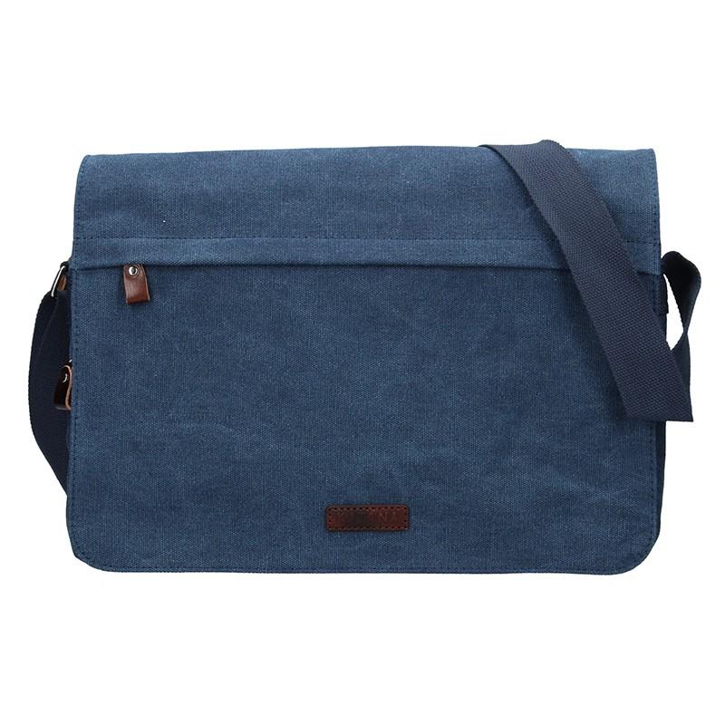 Pánská taška Katana Borsek - modrá