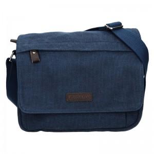 Unisex taška přes rameno Katana Madrid - modrá