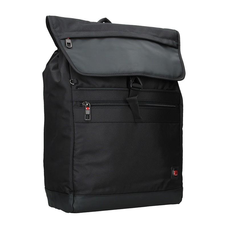 Pánský trendy batoh Enrico Benetti Francis - černá