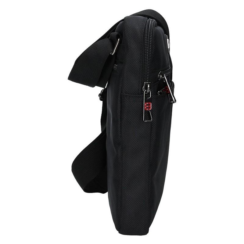 Pánská taška na doklady Enrico Benetti Anttoni - černá