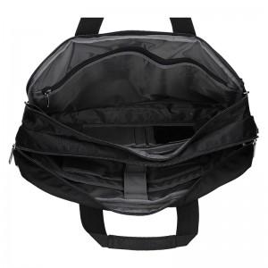 Pánská taška na notebook Enrico Benetti Pentti- černá