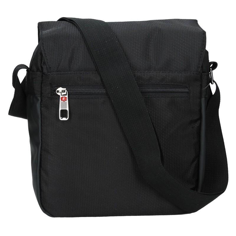 Pánská taška přes rameno Enrico Benetti Pertti - černá