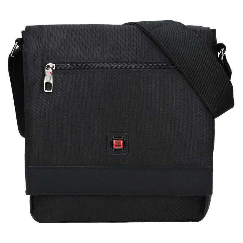 Pánská taška přes rameno Enrico Benetti Rauni - černá