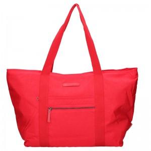 Dámská cestovní taška Enrico Benetti Jolana - červená